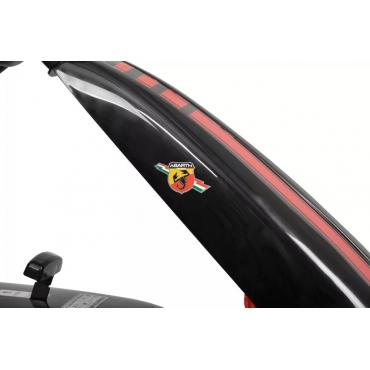Hecht šliapacia motokára ABARTH čierna