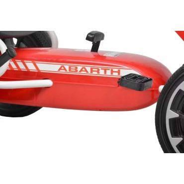 Hecht šliapacia motokára ABARTH červené