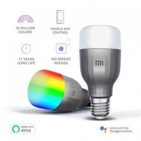 Dvojbalenie Mi LED Smart žiarovka (Biela a farebná)