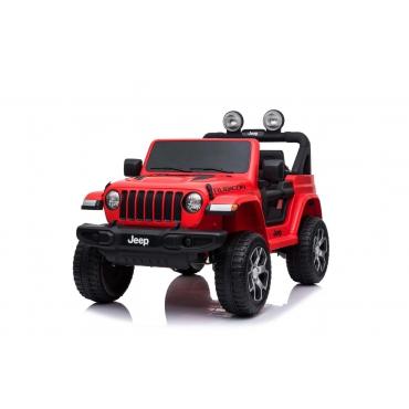 Beneo Jeep Wrangler červený