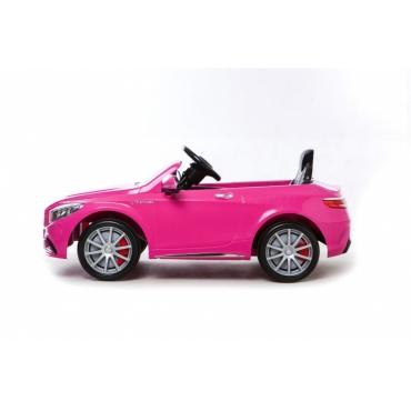MERCEDES BENZ S 63 ružové prevedenie
