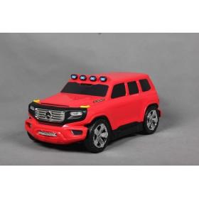 Beneo odrážadlo a kufrík 2v1 Mercedes-Benz Ener-G-Force červené