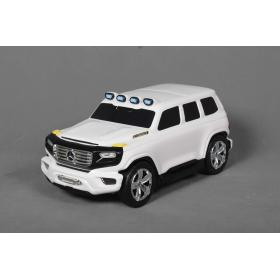 Beneo odrážadlo a kufrík 2v1 Mercedes-Benz Ener-G-Force biely