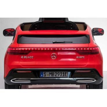 Beneo Mercedes-Benz EQC červené