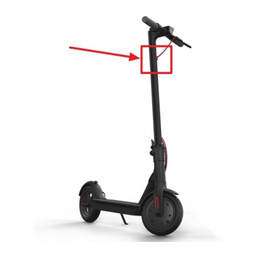 Tesniaca záslepka brzdového bowdenu na kolobežku Xiaomi Mi Electric Scooter Pro Mi Electric Scooter