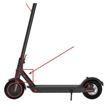 Tesniaca záslepka kábla hlavného rámu pre kolobežku Xiaomi Mi Electric Scooter Pro Mi Electric Scooter