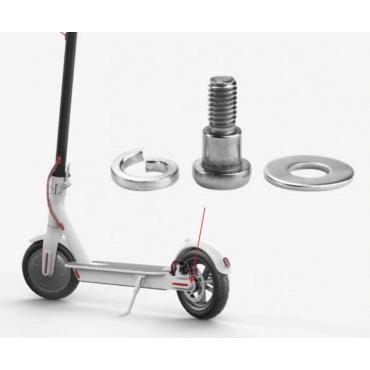 Skrutka s podložkami pre zadné koleso Xiaomi Mi Electric Scooter / Pro