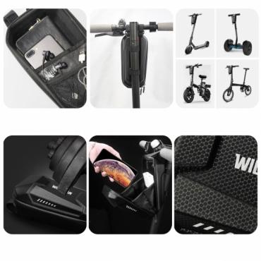 "Taška na kolobežku Xiaomi Mi Electric Scooter / Pro čierna Wildman ""L"""