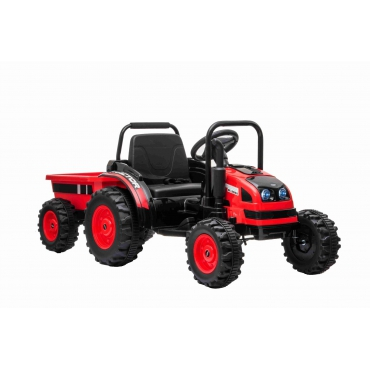 Beneo Elektrický traktor POWER červený