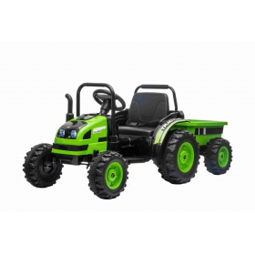 Beneo Elektrický traktor POWER zelený