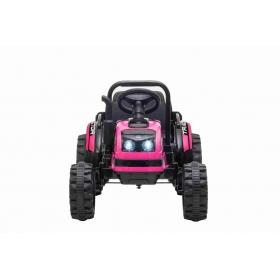 Beneo Elektrický traktor POWER ružový