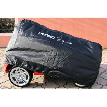 BENEO Zakrývacia plachta na detské autíčko 140x 85x 75cm