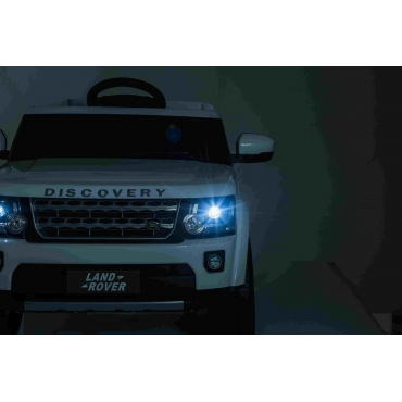Beneo Land Rover Discovery Biely