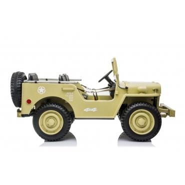 Beneo USA ARMY 4x4 žlté