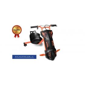 Elektrická driftovacia trojkolka oranžová