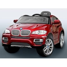 BMW X6 červené lakované prevedenie