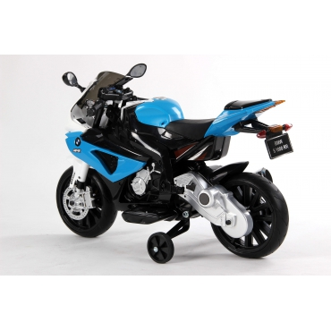 BMW S 1000 RR modrá