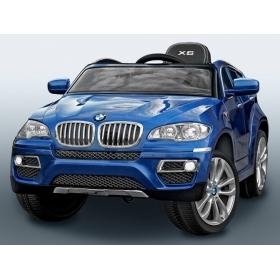 BMW X6  modré lakované prevedenie